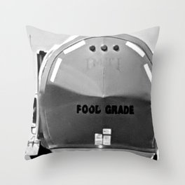 Fool Grade Throw Pillow