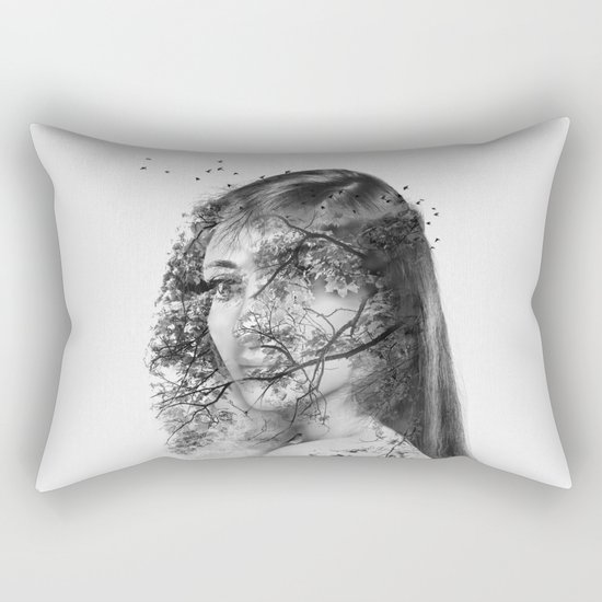 The beautiful mutation Rectangular Pillow