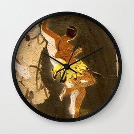Barcelona Street Art - wall 009 Wall Clock