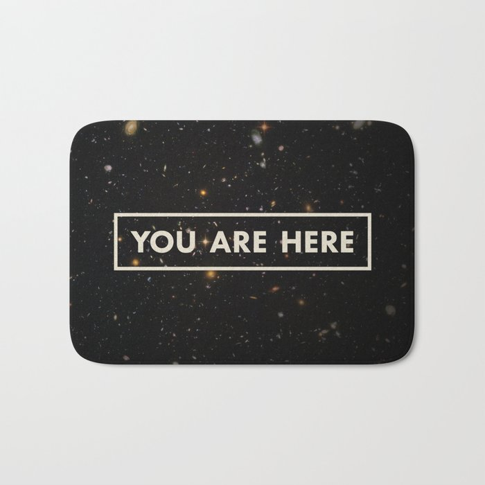 THE UNIVERSE - Space | Time | Stars | Galaxies | Science | Planets | Past | Love | Design Bath Mat