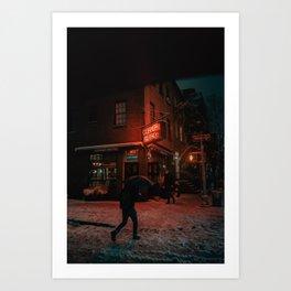 Corner Bistro Art Print