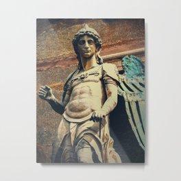 Estatua de San Miguel Metal Print