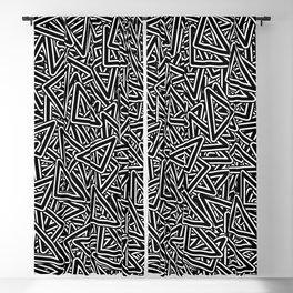Triangle Group ( Beautiful Graphic Art Fashion ) Blackout Curtain