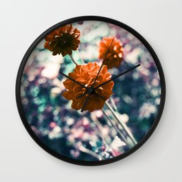 an angel's kiss in spring Wall Clock
