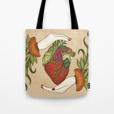 Eating is caring Tote Bag