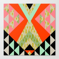 Arrow Quilt Canvas Print