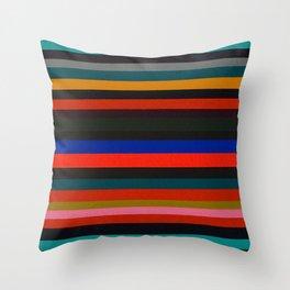 Similar Differences 'Blue' Throw Pillow