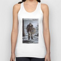 viking Tank Tops featuring Viking by Silvana Massa Art