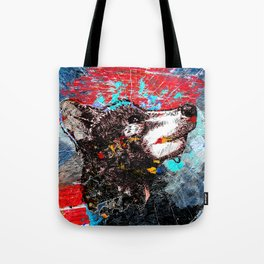 Epic wolf art Tote Bag