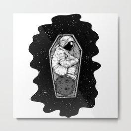 No More Space Metal Print