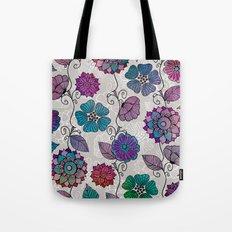 Flower Flow #2 Tote Bag