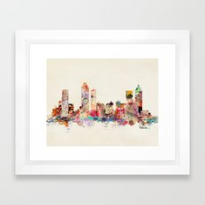 Atlanta Georgia Framed Art Print
