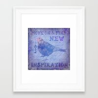 motivation Framed Art Prints featuring Motivation by LebensART
