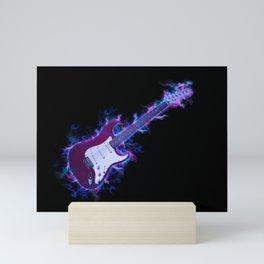 Electric Guitar Mini Art Print