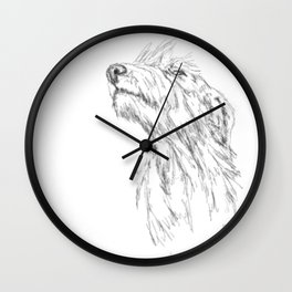 It's in the Air Wall Clock