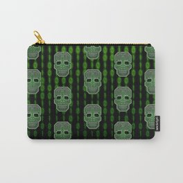 Skull Hacker (pattern version) Carry-All Pouch