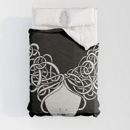 Iconia Girls - Isabella Black Comforters
