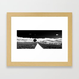 Oregon Highway Framed Art Print