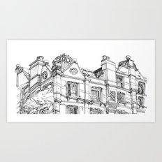 The Pub Art Print