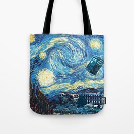Vincent and The Doctor - Bosphorus Tote Bag