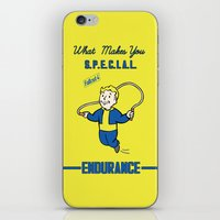 fallout iPhone & iPod Skins featuring Endurance S.P.E.C.I.A.L. Fallout 4 by sgrunfo