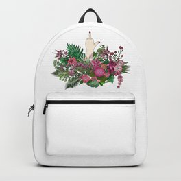 Botanical Bird Bouquet Backpack