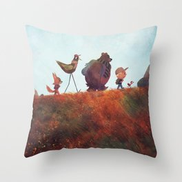 The Expedition Throw Pillow