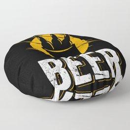 Beer Alcohol Beer drinker Craft Beer Floor Pillow