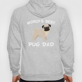 World's Best Pug Dad Hoody