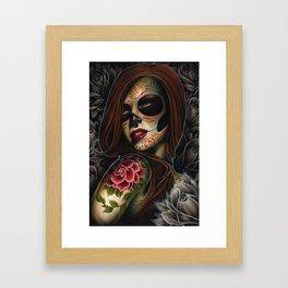 ania dead girl Framed Art Print