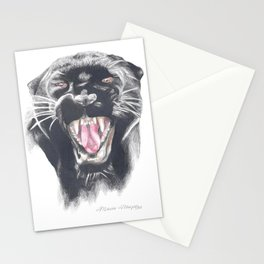 Roaring Panther Stationery Cards