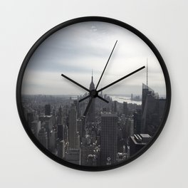 New York City, New York Wall Clock