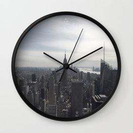 New York City, New York Wall Clock