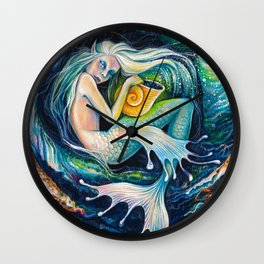 Sweet Dreams (Little Mermaid) Wall Clock