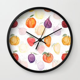 Fruit party Wall Clock