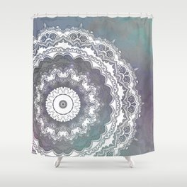Frills Mandala  Shower Curtain