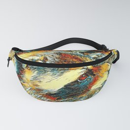 AnimalArt_Raccoon_20180106_by_JAMColors Fanny Pack