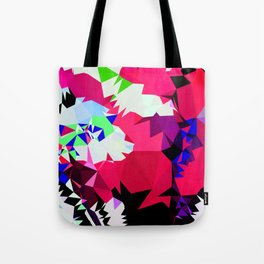 tropical colors contrast Tote Bag