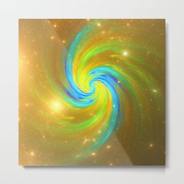 ZoooooZ - Colour Swirl Metal Print