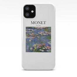 Monet - Water Lilies iPhone Case