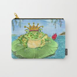 Frog King Carry-All Pouch