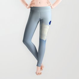 Whales around the cloud Leggings