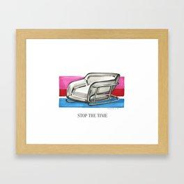 Stop The Time Framed Art Print