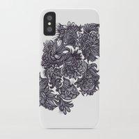 zentangle iPhone & iPod Cases featuring Zentangle; by Shivani C