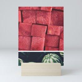 Watermelon Tropical Fruit Mini Art Print