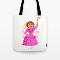 mexico Tote Bags featuring Mexico  by Melissa Ballesteros Parada