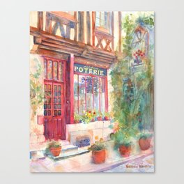 David's Europe 2 - A&C Squire Poterie Canvas Print