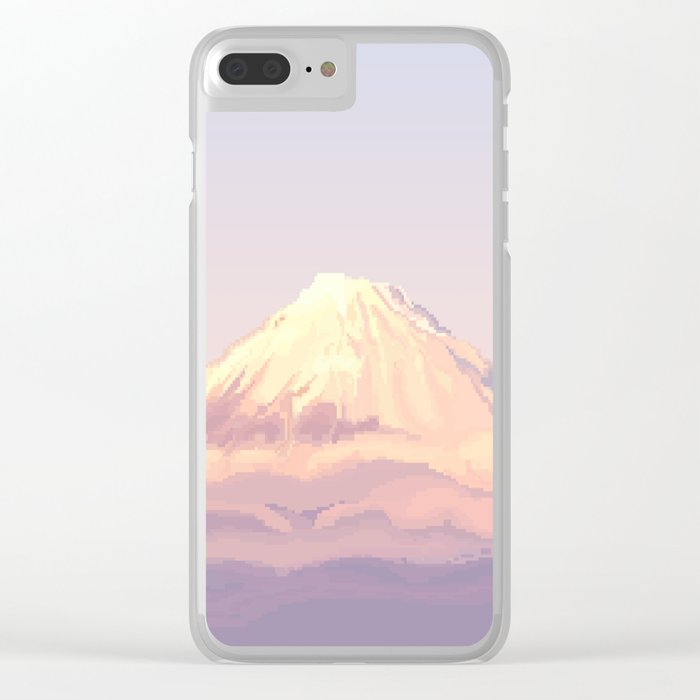 Peak Clear iPhone Case
