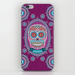 Mexican Skull iPhone Skin