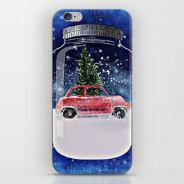 Christmas in a Bottle iPhone Skin